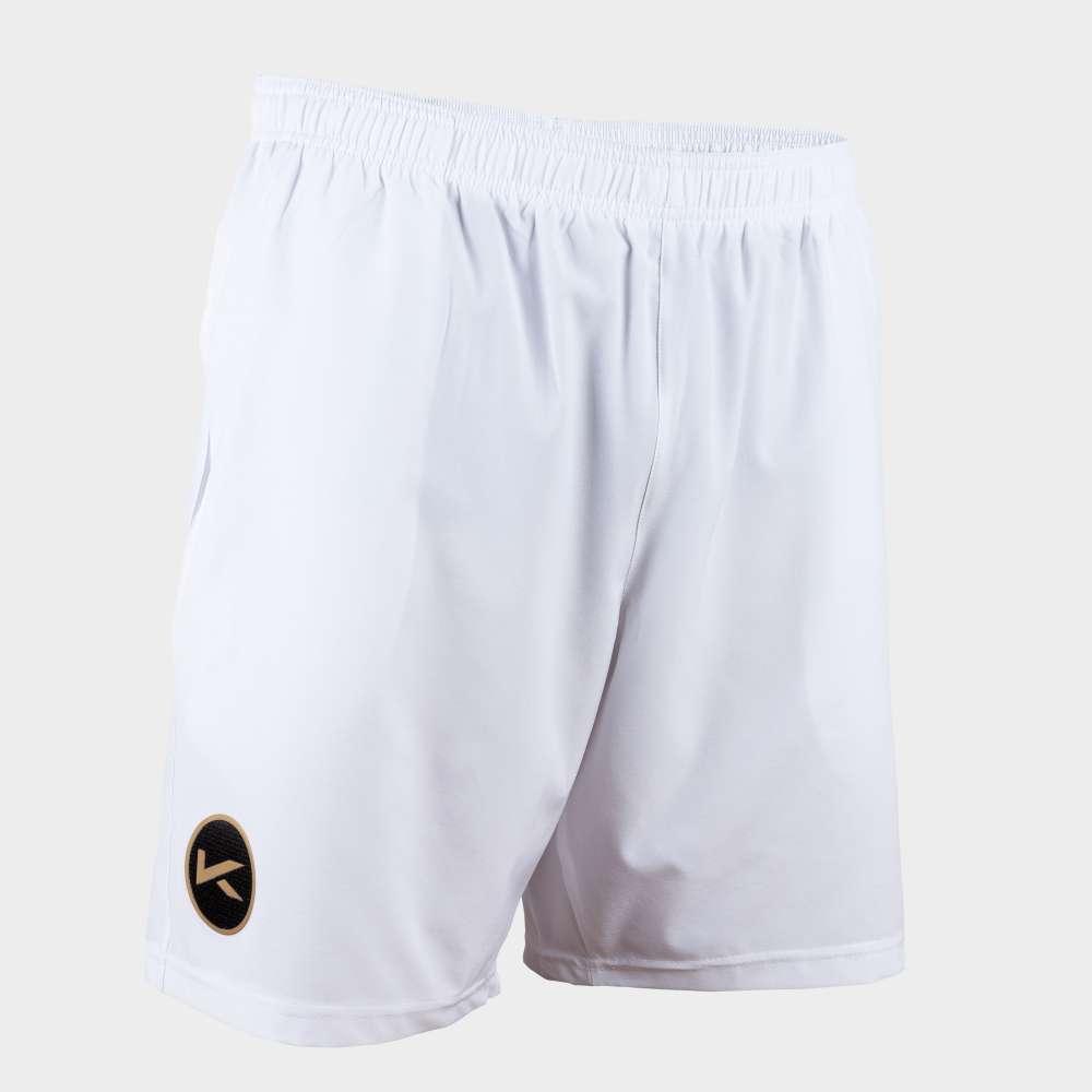 White Kombat shorts