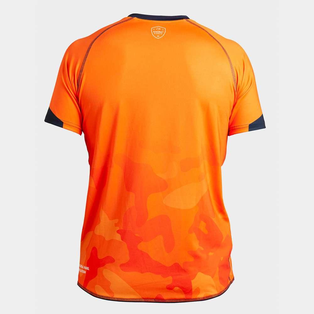 Camiseta de Juego Naranja KMBT Pádel