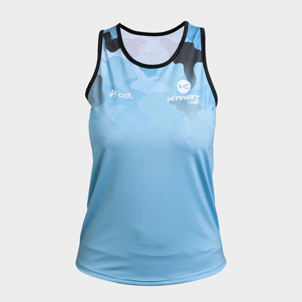 Camiseta de Juego azul KMBT Pádel