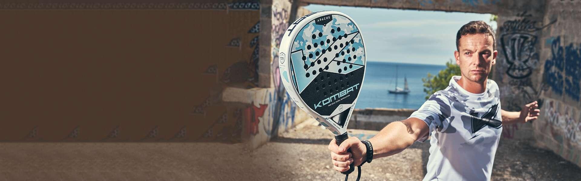 Racchette da paddle con formato Lacrima | Kombat Pádel